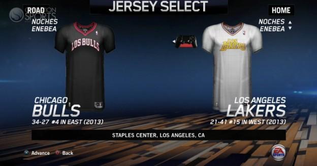 NBA Live 14 Screenshot #83 for PS4
