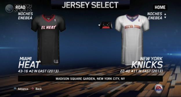 NBA Live 14 Screenshot #84 for PS4