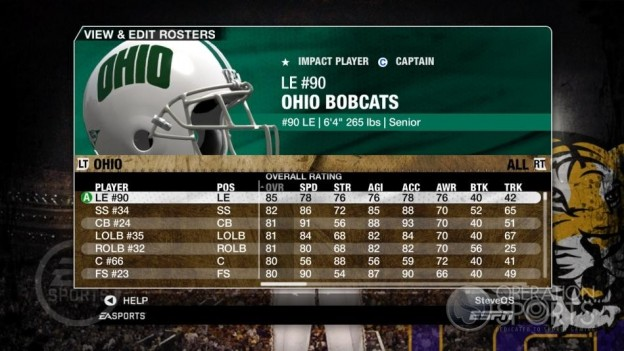 NCAA Football 09 Screenshot #158 for Xbox 360