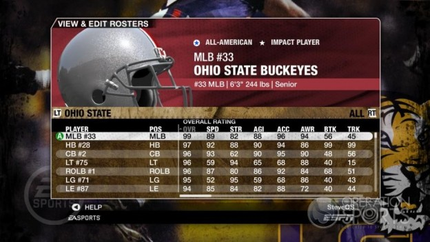 NCAA Football 09 Screenshot #159 for Xbox 360