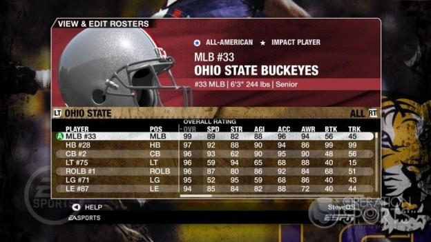 NCAA Football 09 Screenshot #159 for Xbox 360