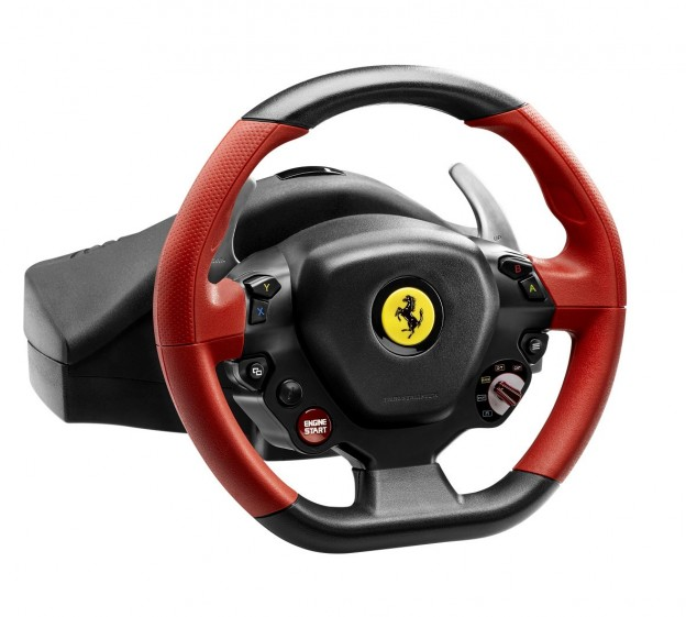 Ferrari 458 Spider Racing Wheel Screenshot #1 for Xbox One