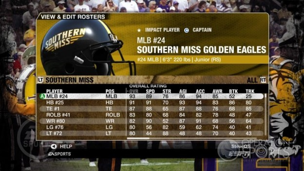 NCAA Football 09 Screenshot #174 for Xbox 360