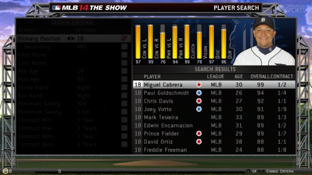 MLB 14 The Show Screenshot #130 for PS3