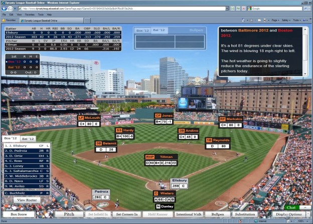 Dynasty League Baseball Online Screenshot #44 for PC