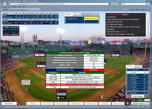 Dynasty League Baseball Online Screenshot #48 for PC