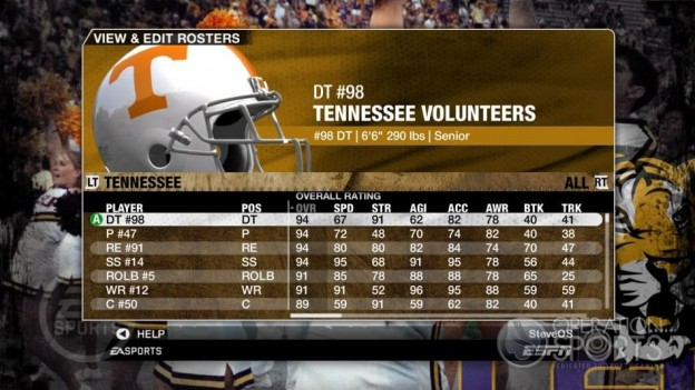 NCAA Football 09 Screenshot #179 for Xbox 360