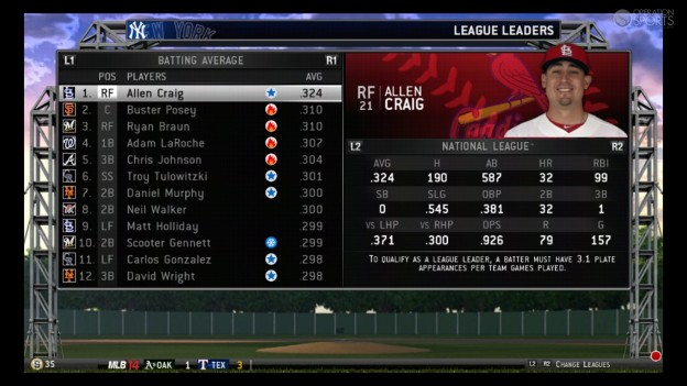 MLB 14 The Show Screenshot #158 for PS3