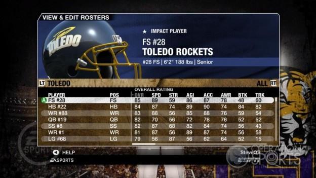 NCAA Football 09 Screenshot #183 for Xbox 360