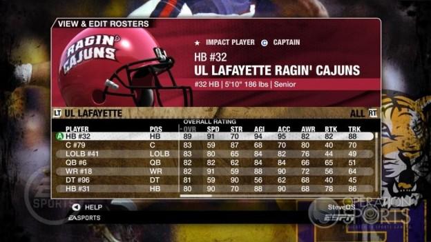 NCAA Football 09 Screenshot #190 for Xbox 360