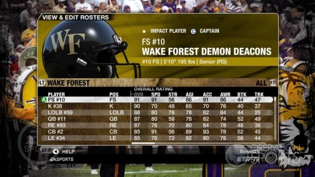 NCAA Football 09 Screenshot #201 for Xbox 360