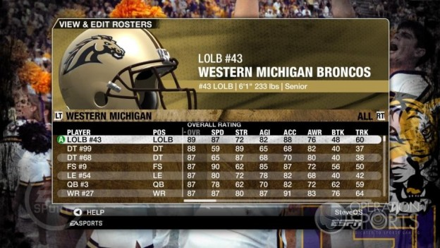 NCAA Football 09 Screenshot #206 for Xbox 360