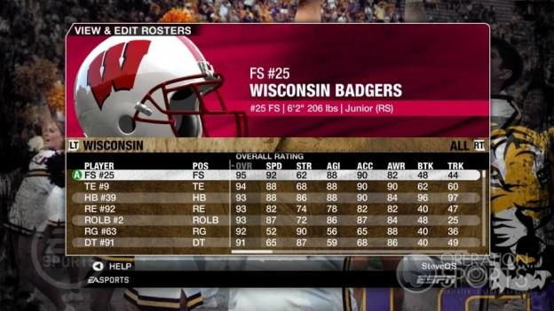 NCAA Football 09 Screenshot #207 for Xbox 360