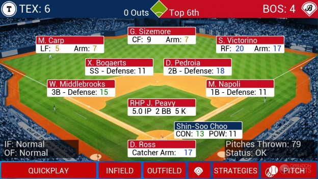 iOOTP Baseball 2014 Screenshot #3 for iPhone, iPad
