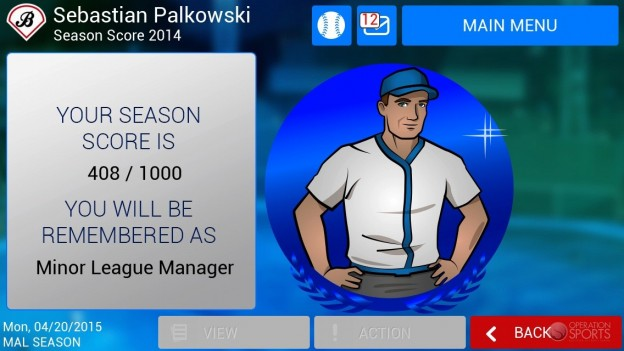 iOOTP Baseball 2014 Screenshot #5 for iPhone, iPad
