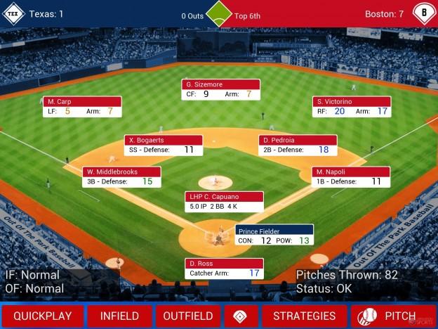 iOOTP Baseball 2014 Screenshot #9 for iPhone, iPad