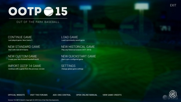 Out of the Park Baseball 15 Screenshot #17 for PC