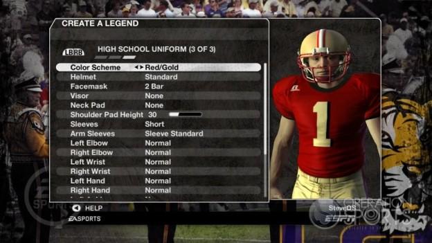 NCAA Football 09 Screenshot #222 for Xbox 360