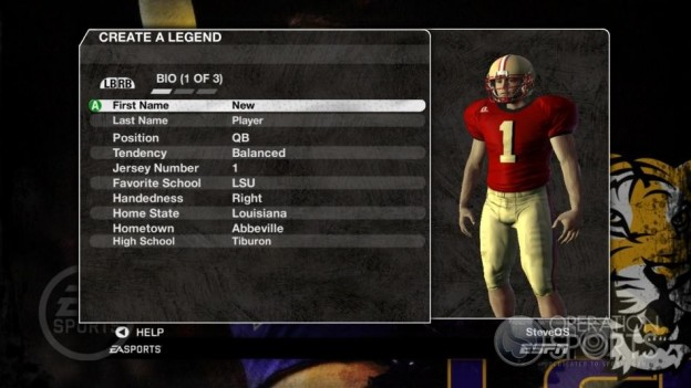 NCAA Football 09 Screenshot #224 for Xbox 360