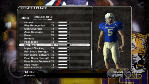 NCAA Football 09 Screenshot #227 for Xbox 360