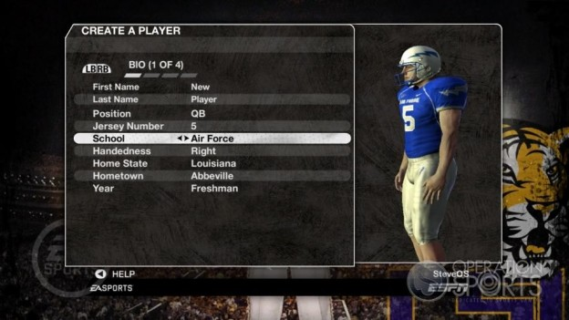 NCAA Football 09 Screenshot #233 for Xbox 360