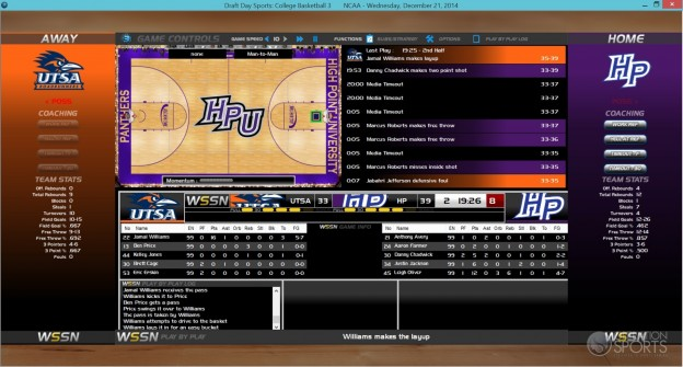 Draft Day Sports: College Basketball 3 Screenshot #3 for PC
