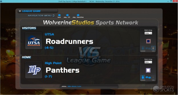 Draft Day Sports: College Basketball 3 Screenshot #4 for PC