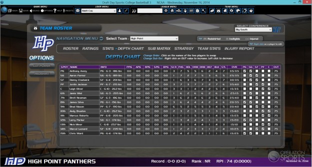 Draft Day Sports: College Basketball 3 Screenshot #5 for PC
