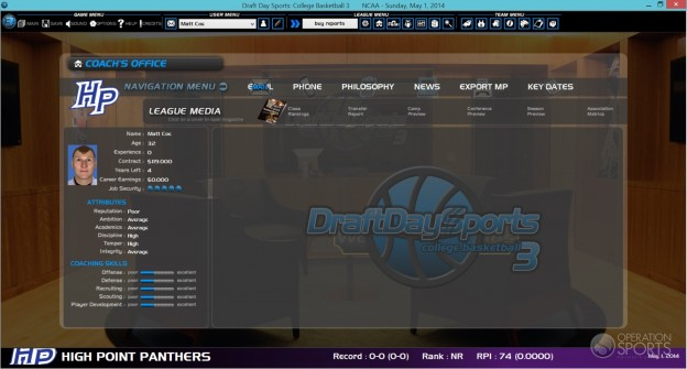 Draft Day Sports: College Basketball 3 Screenshot #6 for PC