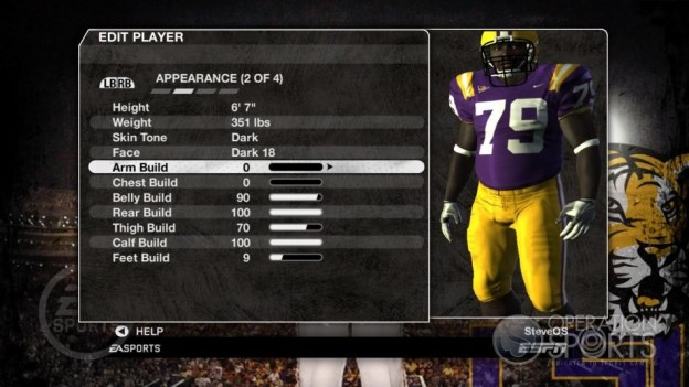 NCAA Football 09 Screenshot #240 for Xbox 360