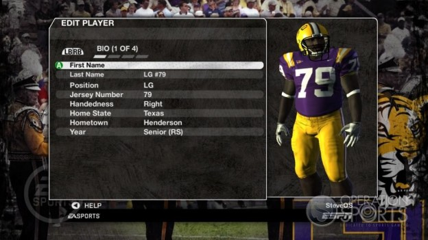 NCAA Football 09 Screenshot #241 for Xbox 360
