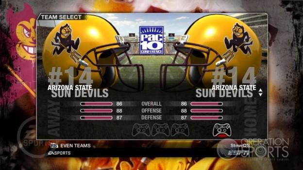 NCAA Football 09 Screenshot #242 for Xbox 360