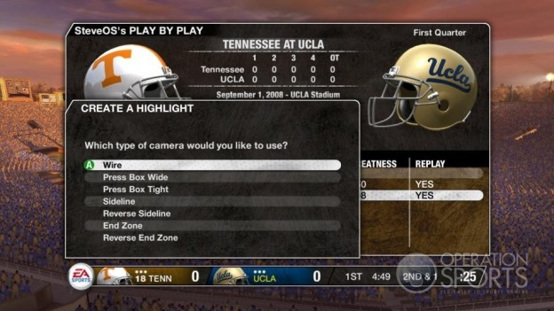 NCAA Football 09 Screenshot #243 for Xbox 360