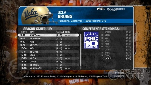 NCAA Football 09 Screenshot #244 for Xbox 360