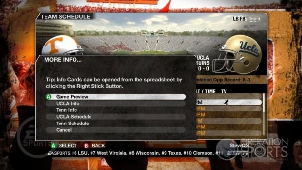 NCAA Football 09 Screenshot #247 for Xbox 360
