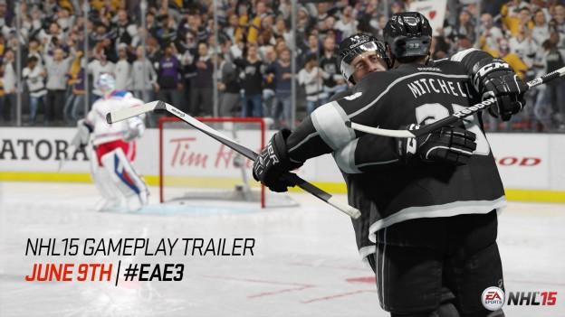 NHL 15 Screenshot #1 for Xbox One