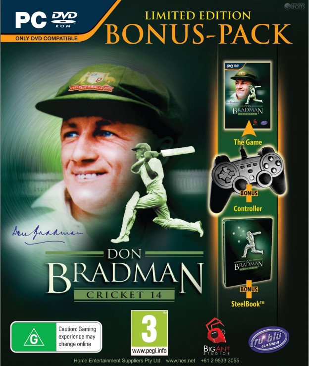Don Bradman Cricket 14 Screenshot #1 for PS3, PC