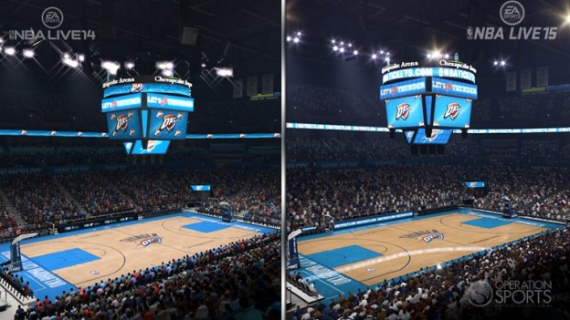 NBA Live 15 Screenshot #5 for PS4
