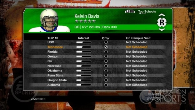 NCAA Football 09 Screenshot #265 for Xbox 360
