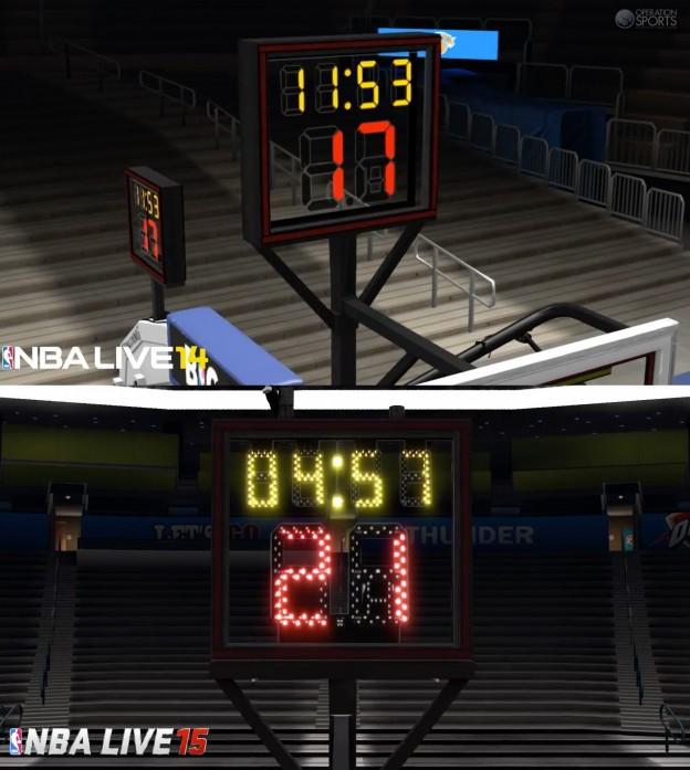 NBA Live 15 Screenshot #9 for PS4