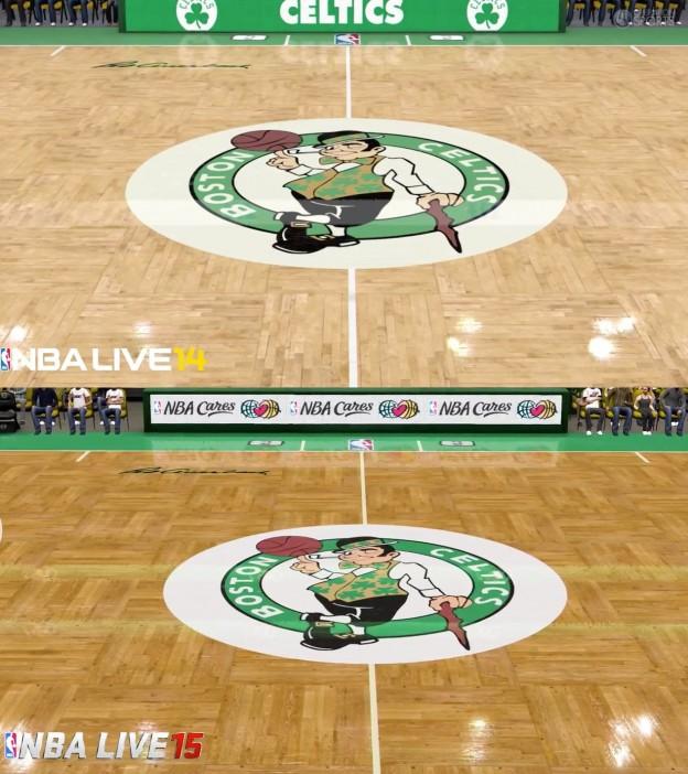 NBA Live 15 Screenshot #10 for PS4
