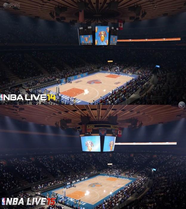 NBA Live 15 Screenshot #3 for Xbox One
