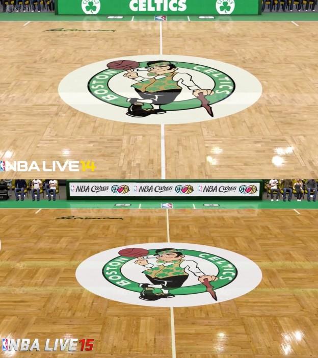 NBA Live 15 Screenshot #6 for Xbox One