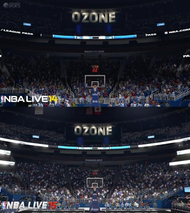 NBA Live 15 Screenshot #8 for Xbox One