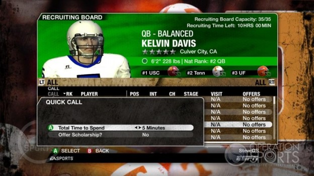 NCAA Football 09 Screenshot #267 for Xbox 360