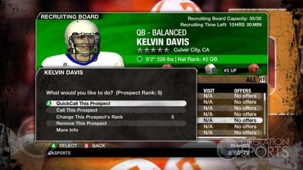 NCAA Football 09 Screenshot #268 for Xbox 360