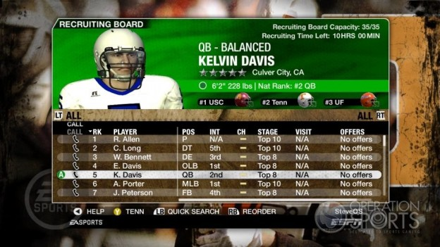 NCAA Football 09 Screenshot #270 for Xbox 360