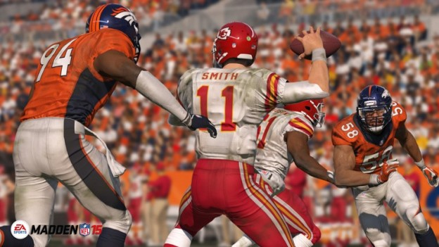 Madden NFL 15 Screenshot #2 for PS4