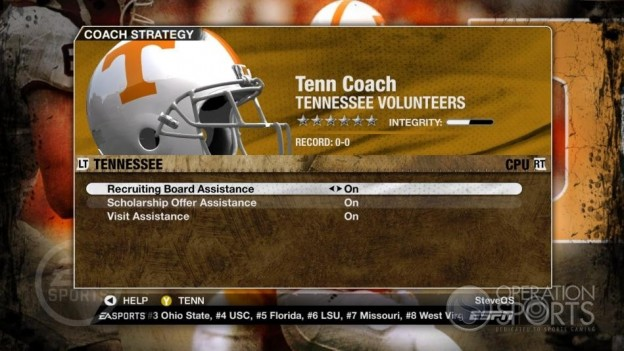 NCAA Football 09 Screenshot #273 for Xbox 360