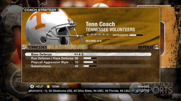 NCAA Football 09 Screenshot #274 for Xbox 360